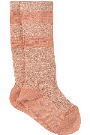 Collegien Kids - Bois de Rose Claire Varsity Crew Socks - Girl - 21-23 (1-2 Years) - - Socks