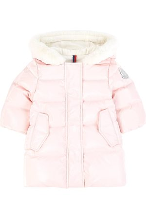 Moncler Kids - Longline Down Jacket - Girl - 9-12 months - - Padded and puffer jackets