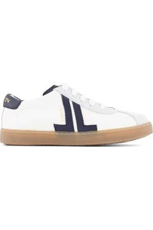 Lanvin Kids - White Logo Sneakers - Girl - 32 (UK 13) - Navy - Running trainers