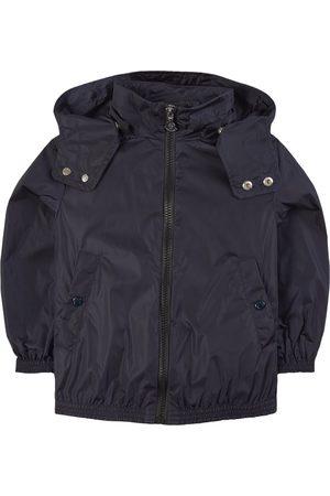 Moncler Sports Jackets - Kids - Navy Zanice Windbreaker - Unisex - 4 years - Navy - Windbreakers