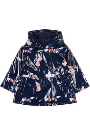 Jacadi Sale - Navy Dog Rain Jacket - Girl - 12 months - Navy - Raincoats