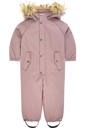 Kuling Ski Suits - Sale - Verbier Snowsuit Dark Lilac - Unisex - 134 cm - - Winter coveralls