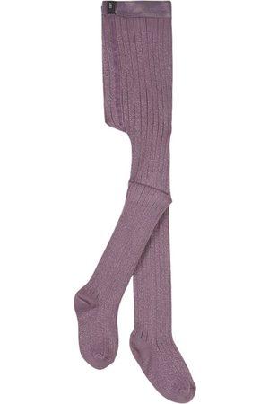 Collegien Girls Stockings - Kids - Glycine du Japon Amélie Tights - Girl - 2 Years - - Tights