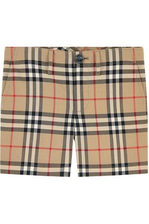Burberry Boys Shorts - Kids - Check print shorts - Boy - 4 years - - Formal shorts