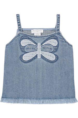 Stella McCartney Kids Sale - Denim Tank Top - Girl - 2 years - - Tanks and vests