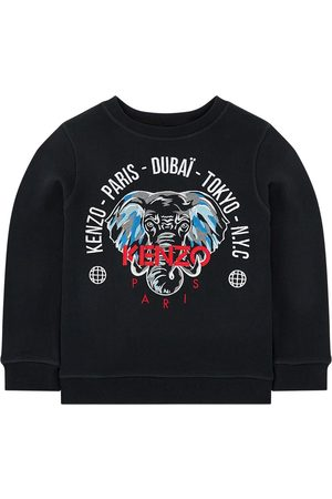 Kenzo Kids - Sweatshirt with embroidered elephant - Tokyo - Boy - 6 years - - Sweatshirts