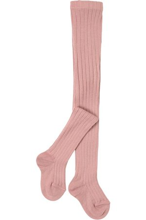 CONDOR Pale Wool Rib Tights - Girl - 0-3 Months - - Tights
