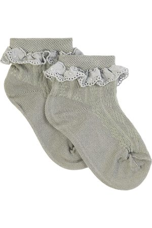 Collegien Kids - Aigue Marine Marie-Antoinette Ankle Socks - Girl - 21-23 (1-2 Years) - - Socks