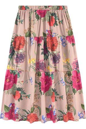 CHRISTINA ROHDE Long printed skirt - 14 Years - - Maxi skirts