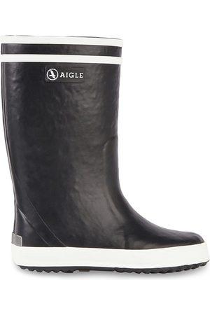Aigle Kids - Navy fur-lined rain boots - Lolly Pop Fur - Unisex - 24 EU - - Wellingtons