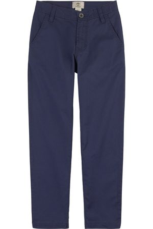Timberland Boys Chinos - Kids Sale - Navy Twill Chinos - Boy - 4 years - Navy - Chinos