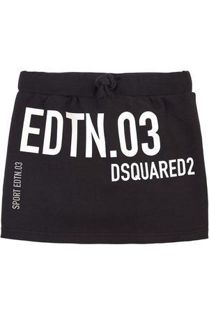 Dsquared2 Girls Printed Skirts - Kids Sale - Printed Pleat Skirt - Girl - 8 years - - Short skirts