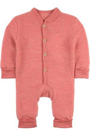 Kuling Sale - Strawberry Melange Wool Fleece Onesie - Unisex - 50/56 cm - - Fleece coveralls