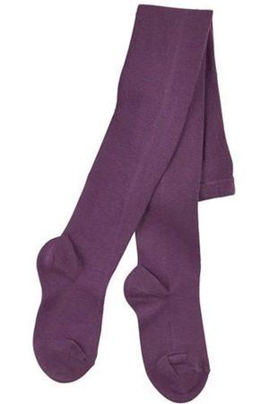 CONDOR Girls Stockings - Aubergine knit Baby socks - Unisex - 0-3 months - - Tights