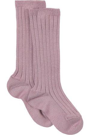 CONDOR Basic Rib Knee Socks Amethyst - Girl - 0-3 Months - - Socks