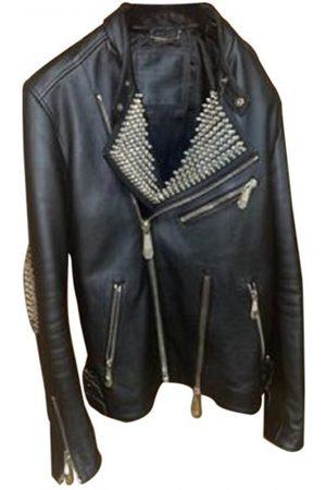 Philipp Plein Men Leather Jackets - \N Leather Jacket for Men