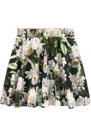 Molo Sale - Printed organic cotton skirt - Girl - 3-4 years - - Short skirts