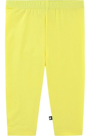 Molo Pale Lemon Nette Leggings - Girl - 3 Months - - Leggings