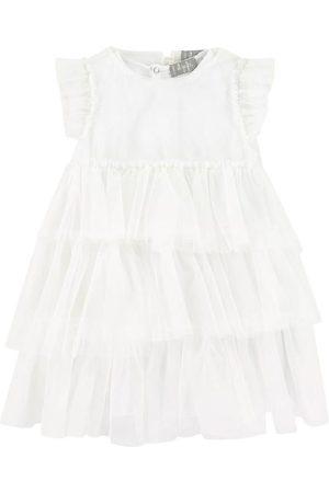 Il gufo Sale - White Ruffle Dress - Girl - 3 Years - - Casual dresses