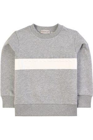 Moncler Kids - Logo Sweatshirt - Unisex - 4 years - Grey - Sweatshirts