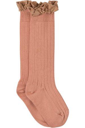 Collegien Kids - Bois de Rose Apolline Gingham Knee Socks - Girl - 21-23 (1-2 Years) - - Socks