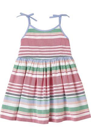 Ralph Lauren Girls Casual Dresses - Kids - Multi Oxford Stripe Woven Dress - Girl - 2 years - - Casual dresses