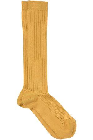 CONDOR Basic Rib Knee Socks Mustard - Unisex - 0-3 Months - - Socks