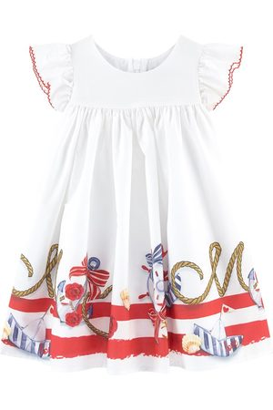 MONNALISA Girls Casual Dresses - ABITO VITA ALTA ST.NAUTIC - Girl - 36 months - - Casual dresses