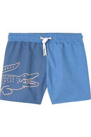 Lacoste Kids - Big Croc Logo Swim Shorts - Boy - 4 years - - Trunks