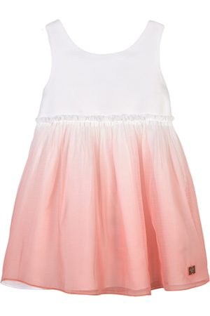 Carrément Beau Sale - Pink Dip Dye Dress - Girl - 2 years - - Casual dresses
