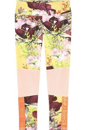 Molo Print lycra sports leggings - Girl - 5-6 Years - - Leggings