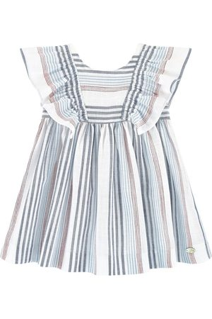 Tartine Et Chocolat Striped Dress White - Girl - 3 Months - - Casual dresses