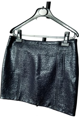 Bash Fall Winter 2019 wool mini skirt