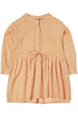 Bakker made with love Sale - Orange Adele Print Dress - Girl - 4 years - - Casual dresses