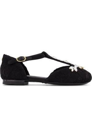 Dolce & Gabbana Kids - Gemstone Ballerina Shoes - Girl - 27 (UK 9) - - Ballerinas and pumps