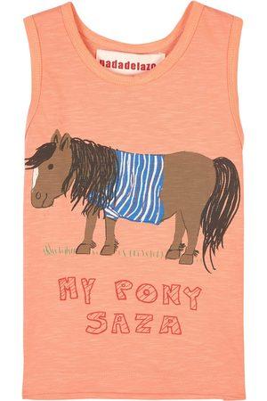 nadadelazos T-shirts - T-Shirt My Pony Saza Coral - Unisex - 2 Years - - T-shirts