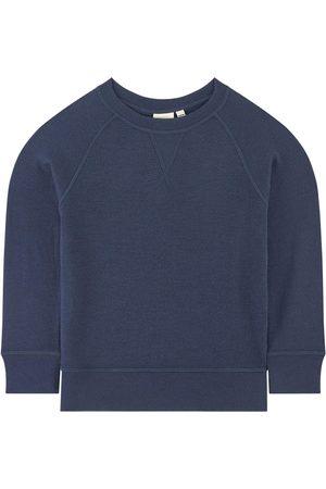 Kuling Merino wool sweatshirt - Wool Sweatshirt - Unisex - 110/116 cm - Navy - Sweatshirts