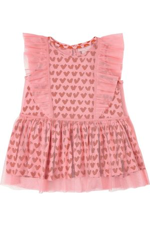 Stella McCartney Kids Sale - Heart Print Dress - Girl - 2 years - - Casual dresses
