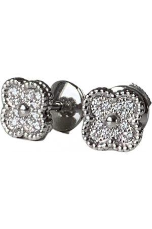 Van cleef Sweet Alhambra White gold Earrings for Women