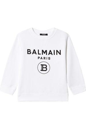 Balmain Sweatshirts - Kids - Branded Sweatshirt - Unisex - 4 years - - Sweatshirts