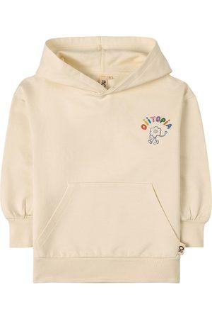 Oii Hoodies - Hoodie -Topia Flower Man Placement Tofu - Unisex - 86/92 cm - - Hoodies