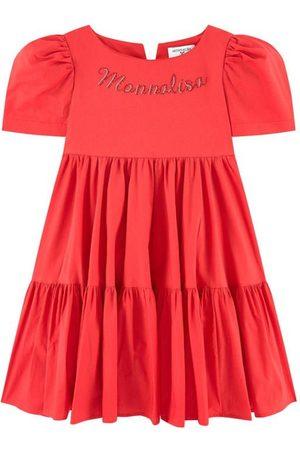 MONNALISA Girls Casual Dresses - ABITO CAPRI Popeline legg - Girl - 3 years - - Casual dresses