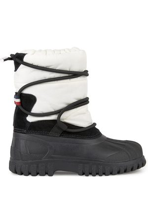 Moncler Ankle Boots - Kids - Fur-lined bi-material ankle boots - Chris - Unisex - 27 (UK 9) - - Snow boots