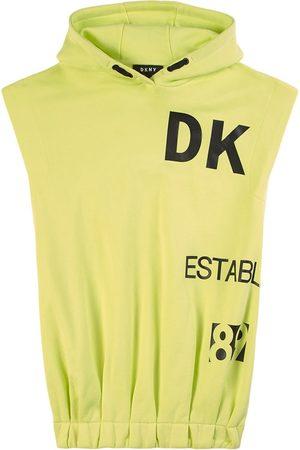 DKNY Kids - Neon Logo Hoodie Dress - Girl - 8 years - - Casual dresses