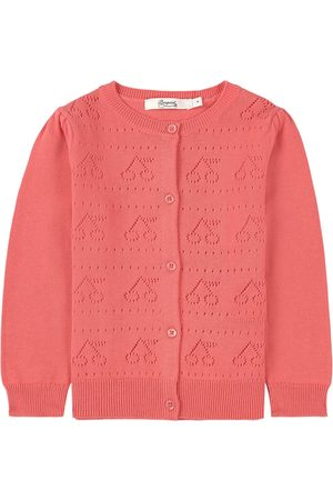 BONPOINT Knitted Cardigan Coral - Girl - 4 years - - Cardigans
