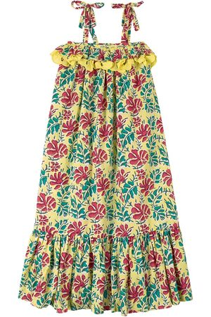 Lison Paris Girls Casual Dresses - Sale - Floral Dress Yellow - Girl - 6 Years - - Casual dresses