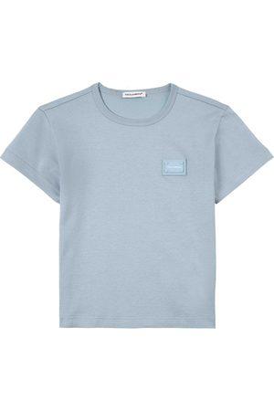 Dolce & Gabbana Kids Sale - Logo Tee - Boy - 2 years - - T-shirts