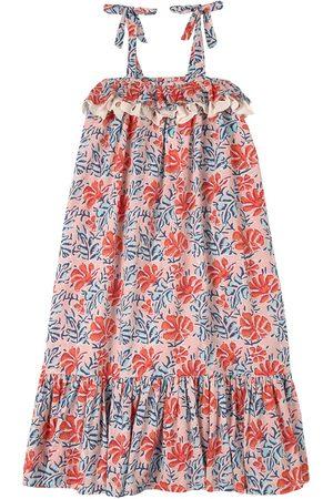 Lison Paris Sale - Floral Dress Pink - Girl - 6 Years - - Casual dresses