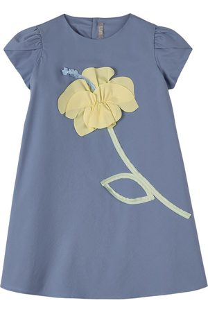 Il gufo Girls Casual Dresses - Sale - Floral Applique Dress - Girl - 4 Years - - Casual dresses