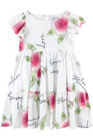 MONNALISA Girls Casual Dresses - ABITO A BALZE Sangallo Mo - Girl - 4 years - - Casual dresses